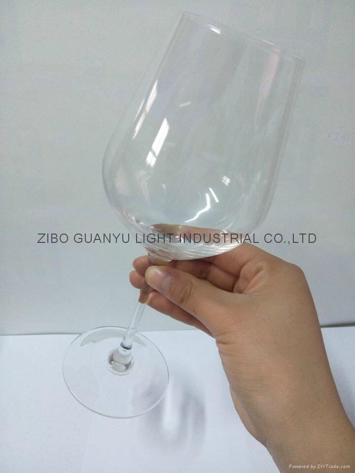 480ml Red wine glass glass mugs 1