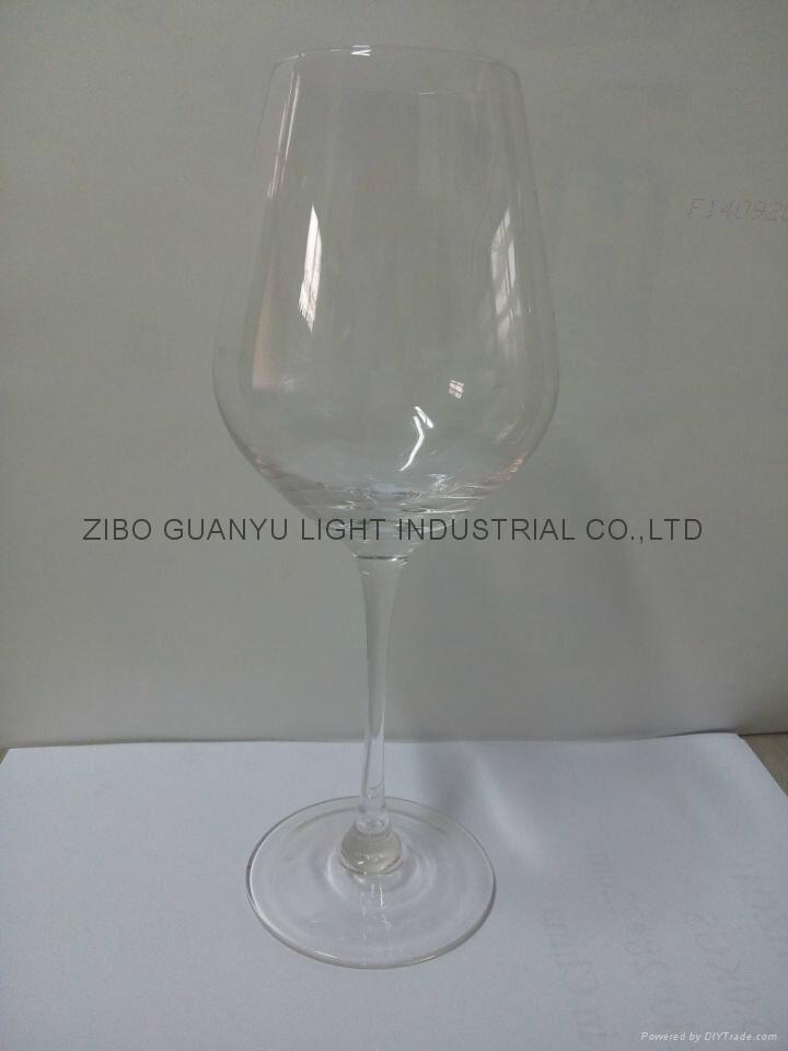480ml Red wine glass glass mugs 2