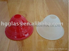 Glass lamp cover
