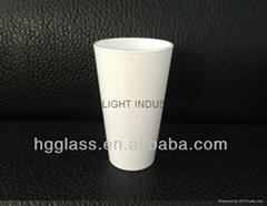 16oz Sublimation White glass mug