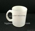 11oz Sublimation White glass mug
