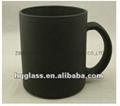 Black color change glass mug 2