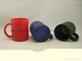 Black color change glass mug 3