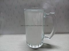 16oz  Sublimation glass mug