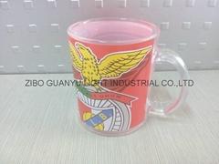 11OZ 350ML sublimation glass beer mug