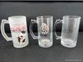 Sublimation glass beer stein glass mug