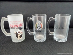 Sublimation glass beer stein (Hot Product - 1*)
