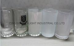 16OZ  500ML Sublimation glass beer mug