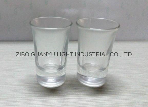 40ml  clear Glass tumbler  1