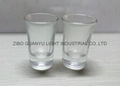 40ml  clear Glass tumbler