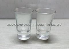 40ml  clear Glass tumbler