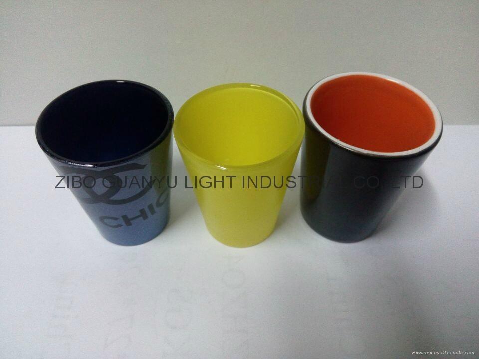 50ML coloful Sublimation shot glass  1