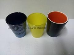 50ML coloful Sublimation shot glass