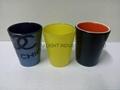 50ML coloful Sublimation shot glass  3