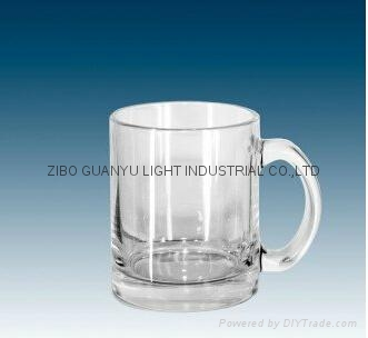 11oz sublimation glass mug