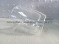 300ml Double wall Glass Mug With Handle,heat-resistant 6