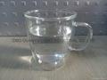 300ml Double wall Glass Mug With Handle