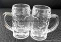 40ml mini glass beer stein