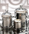 new design bell candle jar,electroplate