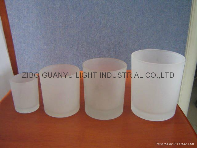 frosted glass candle holder,votive candle holder 1