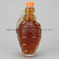 Grenade shaped glass bottle,glass bottle