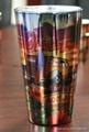 16oz METALIC SUBLIMATION PINT GLASS