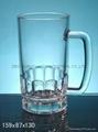 Glass Beer Stein,Sublimation beer mug