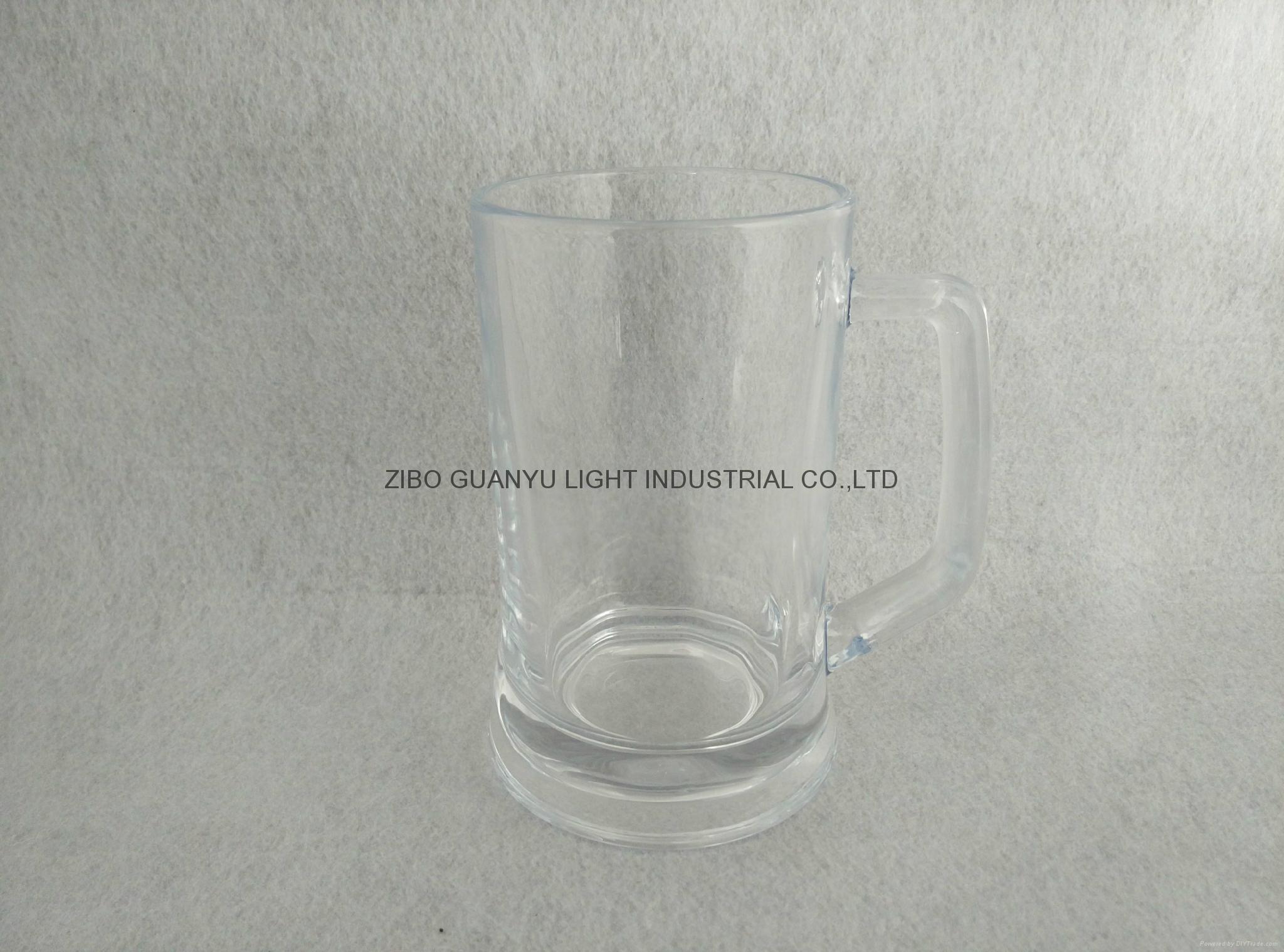 400ml crystal glass beeer mug 1