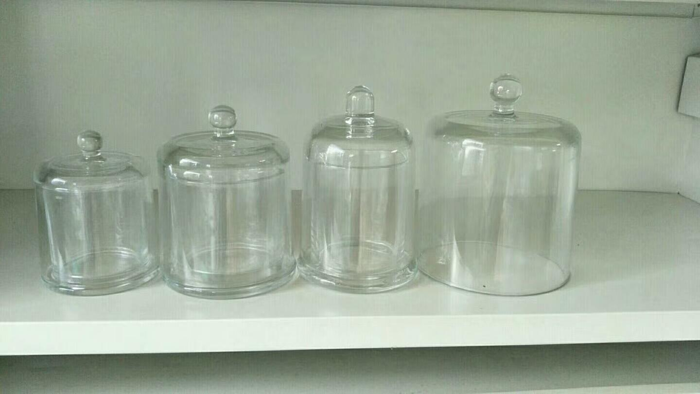 new design bell candle jar,electroplate glass candle jar 2