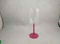Wicked Wine glass with handpainted stem 2