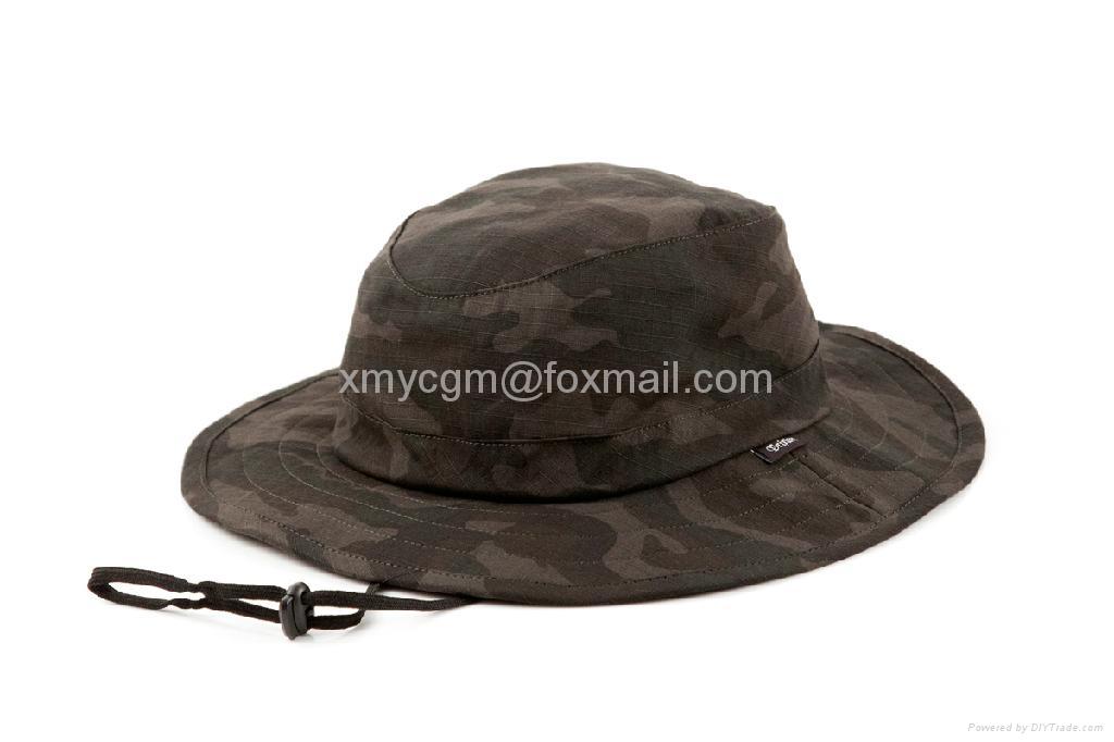 探險家叢林迷彩寬檐釣魚漁夫帽 4