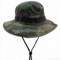 探險家叢林迷彩寬檐釣魚漁夫帽 1