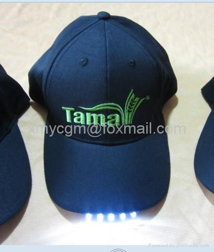 绣花LOGO LED棒球帽 1
