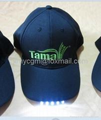 made in China 2014 OEM LED Baseball caps 2~5 lights