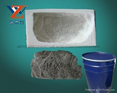 liquid silicon rtv-2 rubber  for concrete statue molds