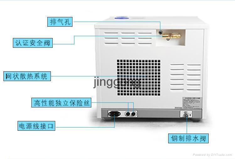 天津精工 打印全自动三次脉动真空压力灭菌器 25L 2