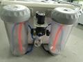 天津精工醫療新型雙筆式噴砂機雙筆雙缸外接吸塵器 2
