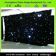 led white star cloth