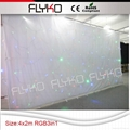 led star cloth decoration