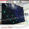 led star curtain for wedding decoration