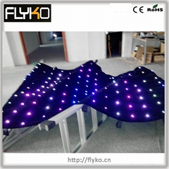 indoor foldable led video screen for sale RGB full color