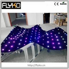 indoor foldable led vide