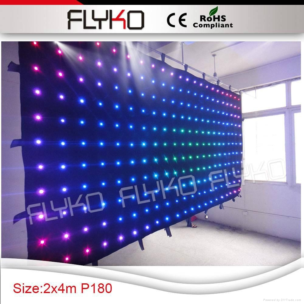 Free shipping led stage backdrop exhibition display show 4