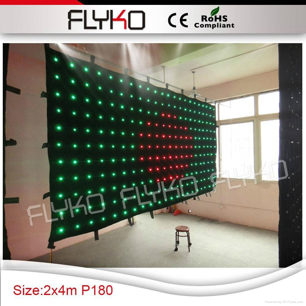 Free shipping led stage backdrop exhibition display show 2