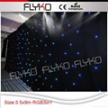 Free shipping China led lighted stage backdrop