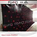 Free shipping China led lighted stage backdrop 3