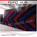 Free shipping indoor led stage curtain 2