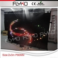 Free shipping indoor p9 led stage