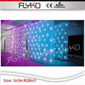 Free shipping led Star curtain