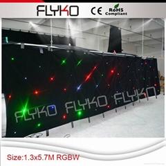 RGBW color led star vision stage backdrop
